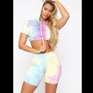 Fashion Nova | Tie Dye Outfit